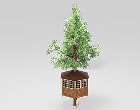 3D model PBR Tree House