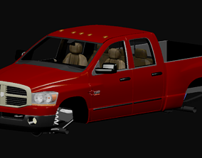 3D model 2006 Dodge Ram 2500 SLT