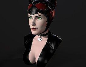 Bust - Catwoman 3D print model