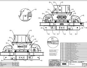 Sandvik impact crusher VSI CV229 complete drawing 3D