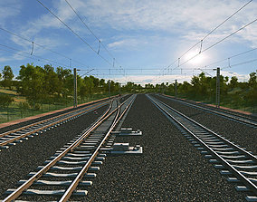 3D model Railway architectural