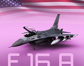 3D model F-16 A Block 15
