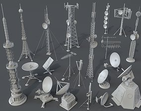 3D Antennas - 20 pieces - part -1 radio