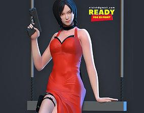Ada Wong - Fanart 3D print model