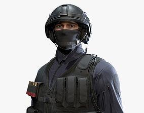 3D model Army Man 03