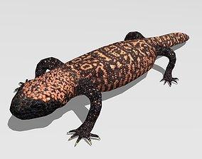 3D model Gila monster