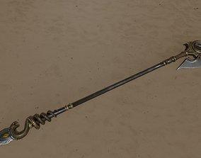 Spear 01 3D asset