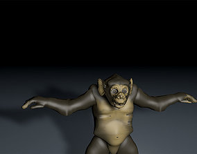 Chimpanzee 3D print model