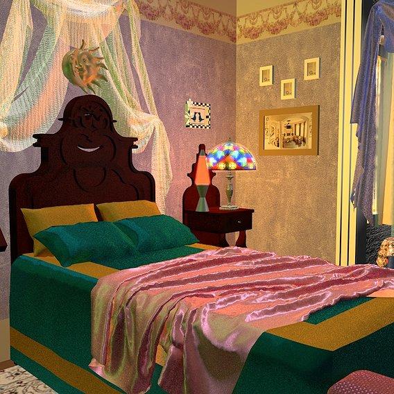 90's Sabrina the Teenage Witch's Room