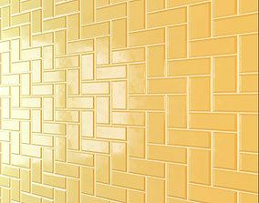Yellow Tile 3D model