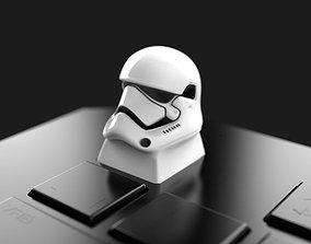 StormtrooperHead Keycap 3D print model