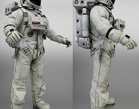 Space Suit 3D asset