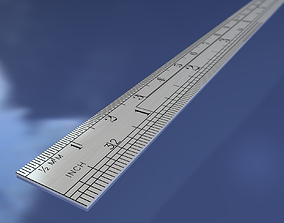 Engineering Scale 3D asset