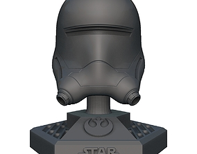 Star Wars Flame Helmet 3D print model
