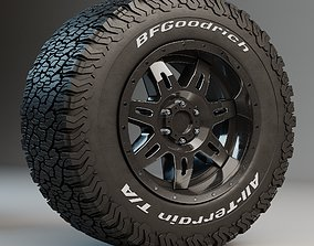 mud Off Road tire 3D