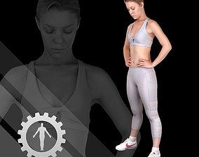 3D model Female Scan - Olga 98