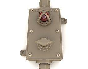 3D Vintage Industrial Switch 03