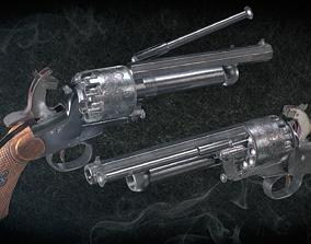 LeMat Revolver 3D asset