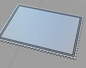 Postage Stamp 3D printable model