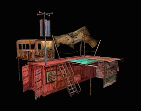 Construction 3D asset