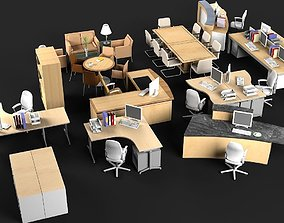 3D model Office Furniture 2 furniture-set