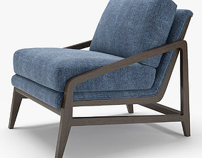 West Elm Peyton Chair 3D model