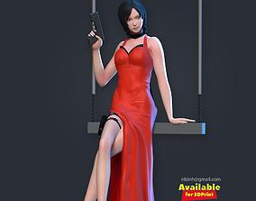 3D print model dress Ada Wong - Fanart
