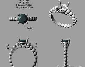 Ring 1025 3D print Model