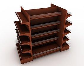 Shop shelf 3D