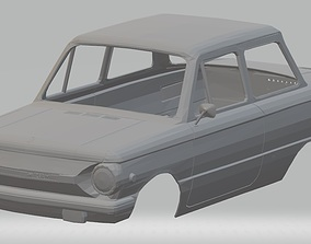 ZAZ 968 Printable Body Car