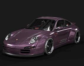 3D model RWB Widebody Kit for Porsche 911 997