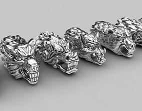 End pieces for bracelets 2 eagle 3D print model
