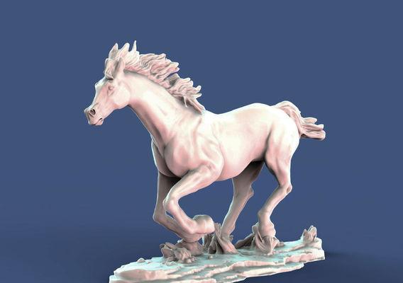 Galloping horse arab