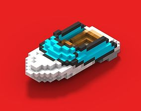 Voxel Boat 3D model