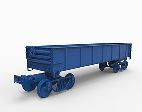 3D print model wagon mod9