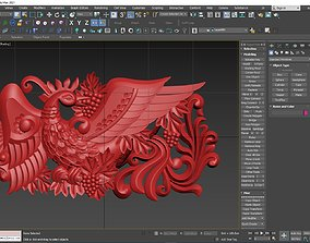 Peacock 3D printable model