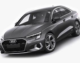 3D Audi A3 Sedan 2021