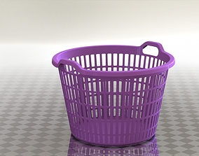 Plastic basket cloth 3D