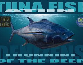 game-ready Tuna 3D model