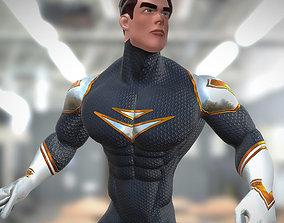 3DRT - SuperHero animated