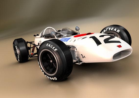 HONDA RA272 Mexican Grand Prix 1965