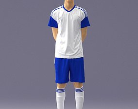 Soccer player 1114-5 3D Print Ready