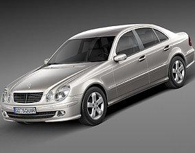 Mercedes-Benz E-Class W211 2002-2009 2006 3D