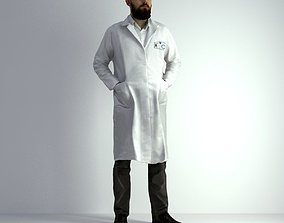 3D Scan Man Scientist 021 man