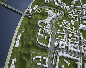 Urban Area 06 3D asset