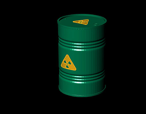 Barrel 3D Models oil barrels gas gasoline container