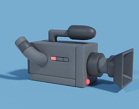 3D model Filmcamera