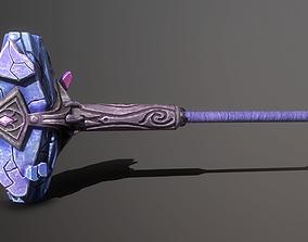 Crystal hammer 3D model