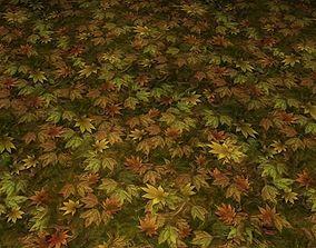 3D ground leaf tile 04