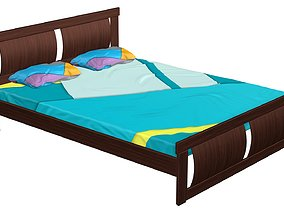 3D asset Bed 7
